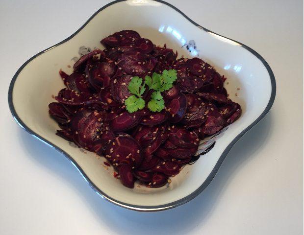 Asiatisk gulerodssalat